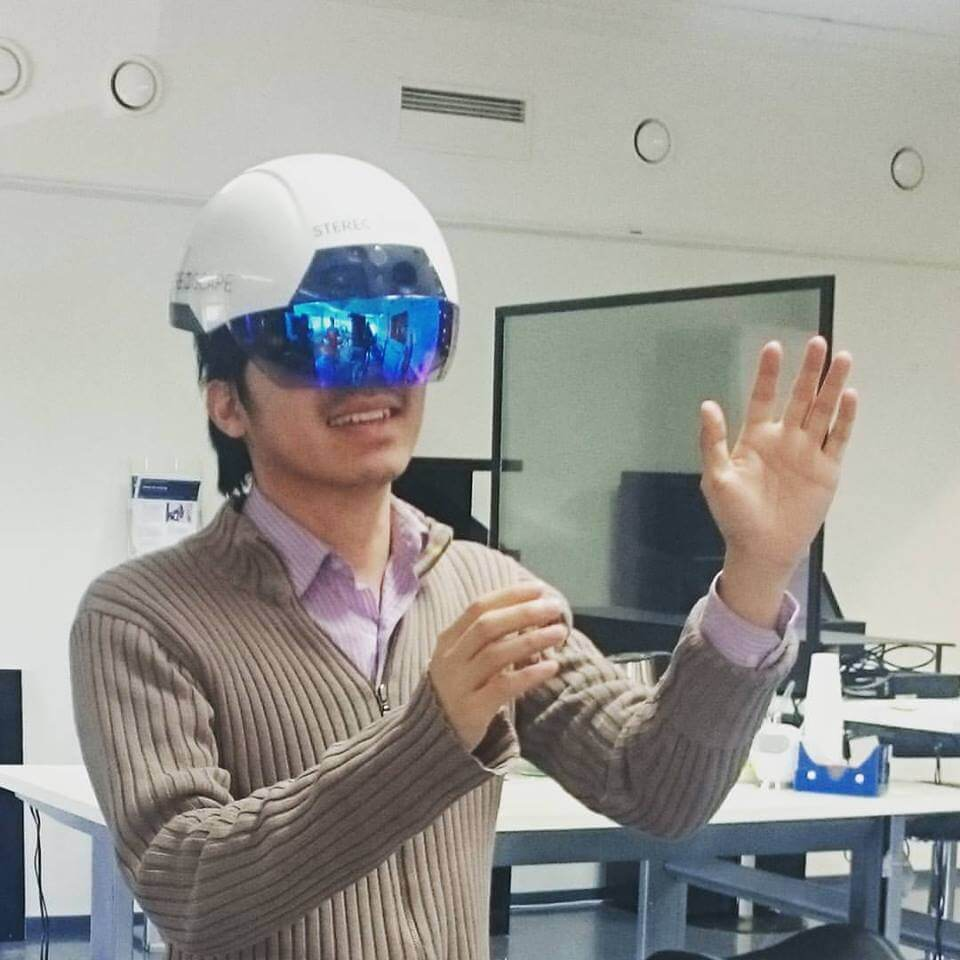 Testing the new VR Helmet – I saw the future!