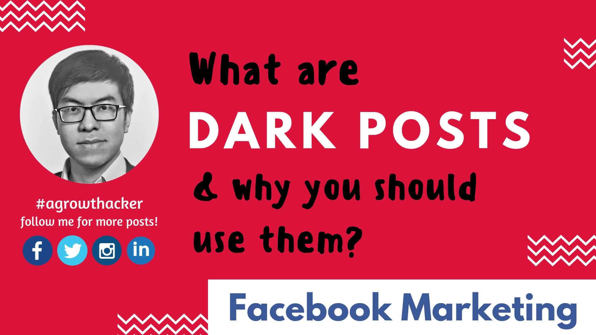"""What are """"dark posts"""" & Why you should use them?"""