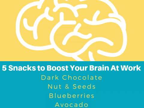 5 snacks to boost your brain at work!