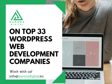 Aurora Digital is one of the top 2019 WordPress development agencies around the world!