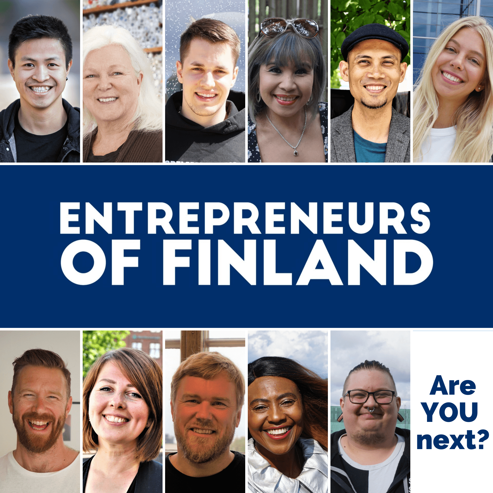 I want to share with you a project called Entrepreneurs Of Finland I have been working on in the past 3 months