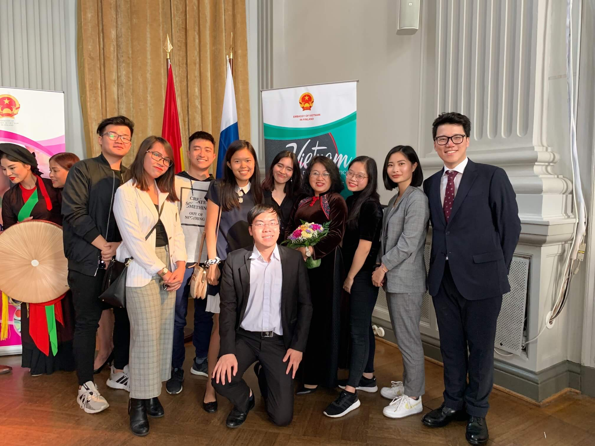 In celebration of the 74th Vietnam National Day at Vietnam Embassy in Finland